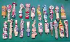 Huge Pabst Beer Tap Handle Lot of 23 Diff PBR Snake Elephant  Pizza Unicorn etc