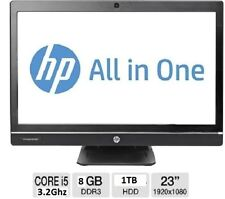 All-In-One HP 8GB 3.00-3.49GHz PC Desktops