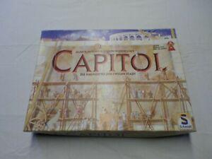 RARE Capitol Game - Alan R Moon & Aaron Weissblum 2001 - Schmidt