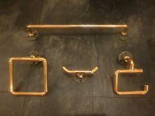 copper pipe bathroom accessories 4 pieces .