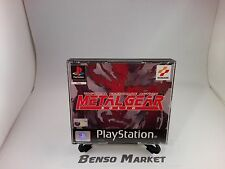 METAL GEAR SOLID *PRIMA STAMPA BLACK LABEL* PS1 PLAYSTATION 1 ITALIANO COMPLETO