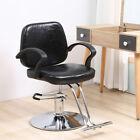 New Hydraulic Barber Chair Salon Styling Shampoo Spa Beauty Work Station Black