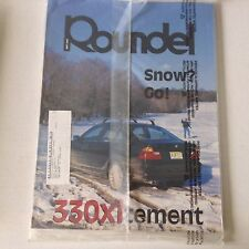 Roundel BMW Magazine 330xitement SEALED May 2001 052817nonrh