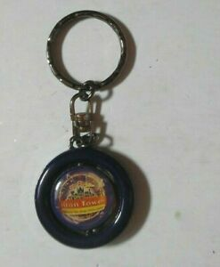 ALTON TOWERS COLLECTABLE SWIVEL CENTRE KEY RING THE MAGIC NEVER ENDS VGC 1990S?