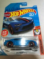 2018 Hot Wheels '18 Camaro SS #265/365 [Blue] Muscle Mania Diecast Car