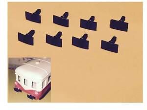 Lot de 8 Tampons pour Autorail Picasso et Turbotrain JOUEF
