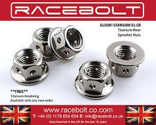 Suzuki GSXR1000 01-08 Rear Sprocket Nut Kit - Racebolt Titanium Race Spec