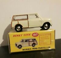 Vintage classic Dinky / No.197, Morris Mini Traveller off White new and unsealed