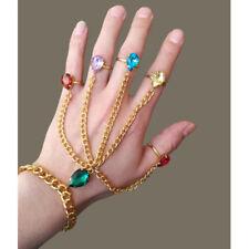 Hot Gift Marvel Legends THANOS Infinity War Gauntlet Gem Bracelet Ring Handchain