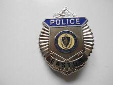 """amerikanisches Polizeiabzeichen (Dienstmarke) """"POLICE EASTON"""" Metall - Replikat"""