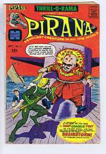Thrill-O-Rama presents Pirana #2 Harvey Pub 1966