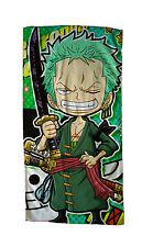Neu ONE PIECE Zoro Manga Handtuch Duschtuch Hand Towel 35x70CM 001