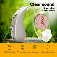 USB Rechargeable Digital Hearing Aid High-Power Invisible Ear Aids For Elderly