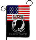 US POW MIA Garden Flag Service Armed Forces Decorative Gift Yard House Banner