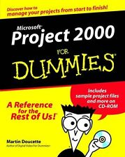 Microsoft Project 2000 For Dummies,Martin Doucette