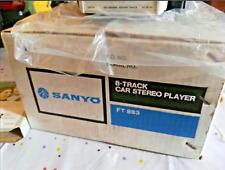 Sanyo FT-883 8 Pistas Nuevo, Funcionando 100%100