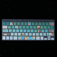 Soft Silicon Rubber Keyboard Skin Cover for MacBook Air/Pro Retina 13 Inch