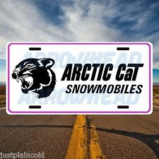 Arctic Cat snowmobiles vintage style license plate 1