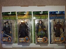 LORD of the RINGS: LOTR ROTK: GANDALF, WITCH KING RINGWRAITH, ELROND, HARADRIM