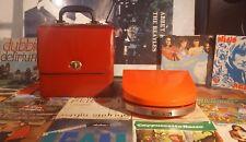 Giradischi mangiadischi vintage GRUNDIG PHONO-BOY + custodia + dischi (no Penny)