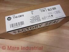 Allen Bradley 1746-OW16 Module 1746-0W16 Series C / Factory Sealed