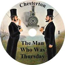 The Man Who Was Thursday, Mystery Audiobook by G K Chesterton on 1 MP3 CD