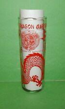 New listing Chinese Dragon Liquor Glass w/Red Dragon 1977 - 2014 Retired New York Mai Tai