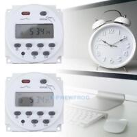 Digital LCD Timer Controller Switch Rechargeable Programmable Relay Controller T