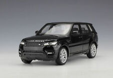 Welly 1:24 Land Range Rover Sport Black Diecast Model Sports Racing SUV Car Toy