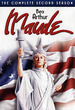 MAUDE COMPLETE SECOND SEASON (DVD, 3 Discs) SHIPS NEXT DAY Bea Arthur