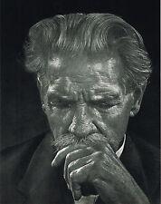 1960s Vintage Albert Schweitzer Portrait Yousef Karsh Photo Photogravure Print