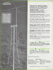 Avanti AV-101 Astroplane 5/8  CB Radio Base Antenna NOS 1978