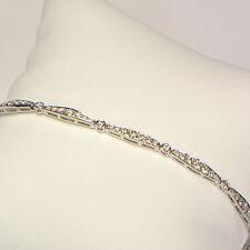 Diamant Armband in 750er Weissgold mit 2,02 Karat Diamantgewicht Brillantarmband