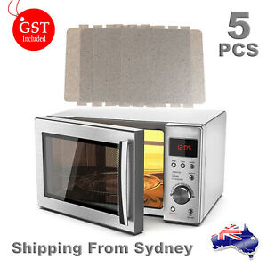 5PCS Universal Microwave Oven Mica Sheet Wave Guide Waveguide Cover Sheets AUS