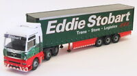 Corgi 1/50 Scale Model Truck CC13415 - MAN TGA XXL Curtainside - Stobart