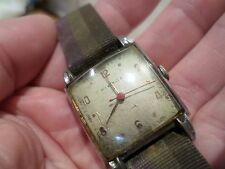 WONDERFUL VINTAGE GENTS PIERCE WATCH. IN WORKING ORDER, ONE OF MANY FOR SALE