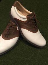 Ecco Leather Saddle Golf Shoes 45