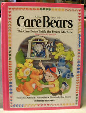 Vintage 1984 Hardcover CARE BEARS BATTLE THE FREEZE MACHINE Book Cold Heart TV