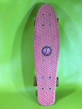 """Vintage Red Penny Style Board  22"""" Skateboard Street Flyers Branded"""