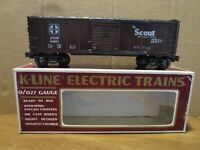 K-Line, K64851, The Scout Box Car, OB