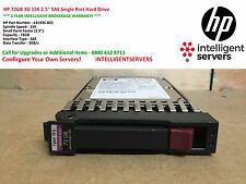 "HP 72GB 3G 15K 2.5"" SAS Single Port Hard Drive ** 431935-B21 / 432321-001 **"