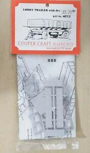 Cooper Craft 4013 Drop Side trailer kit 00 gauge
