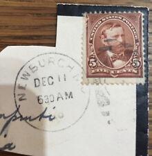 US STAMP 1894 SCOTT 255 CANCEL NEWBURCH (NY) ULYSSES S. GRANT