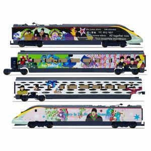 Hornby The Beatles Yellow Submarine Livery - 4 Car Eurostar Bundle