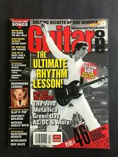 Guitar One Magazine April 2006 The Ultimate Rhythm Lesson  Pete Townshend