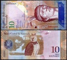 Venezuela 10 Bolivares 3/9/2009 (Gem UNC) 委内瑞拉 10玻利瓦尔 K06989350