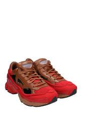 Raf Simons Ozweego replicante Adidas X Rojo/Marrón Caja/Calcetines (Ltd a 500 pares)