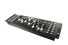 CENTRALINA DMX MIXER CONTROLLER LUCI DISCO EFFETTI DJ 192 CANALI DMX 512