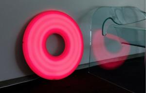 Josh Sperling, Donut (Pink) Lamp, 2020 Case Studyo