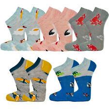 SNEAK Sneaker Socken Füßlinge Kurzsocken Buntfarbig 5 Paar